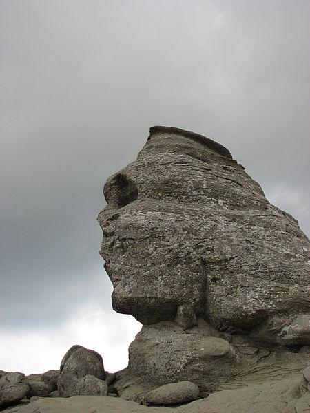 Bucegi_Sphinx_-_Romania_-_August_2007