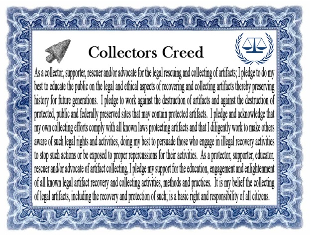 Collectors Creed