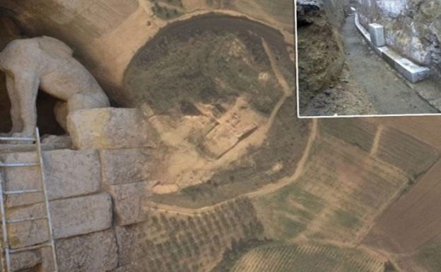 Amphipolis tombn from above