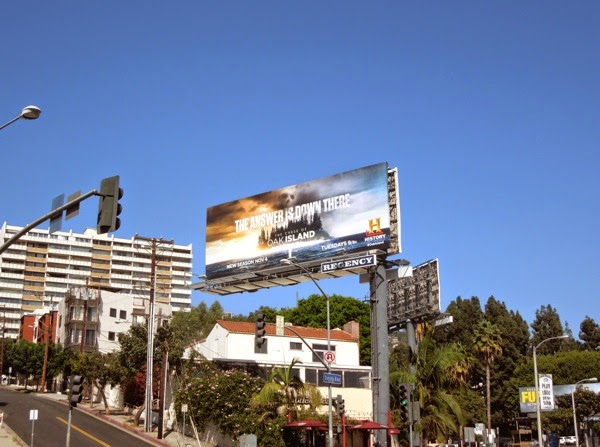 Curse of Oak Island season2 billboard