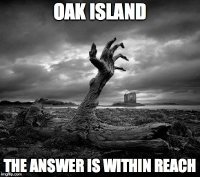 oak island reach meme