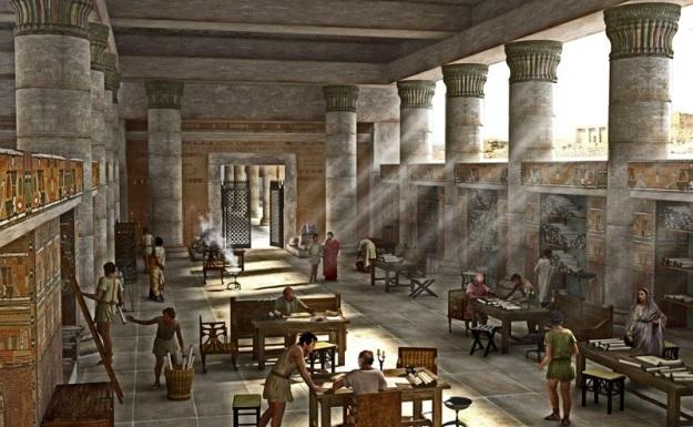 Alexandria Library1