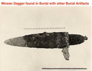 minoan dagger found